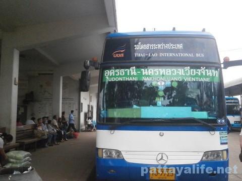 ラオス国際バス