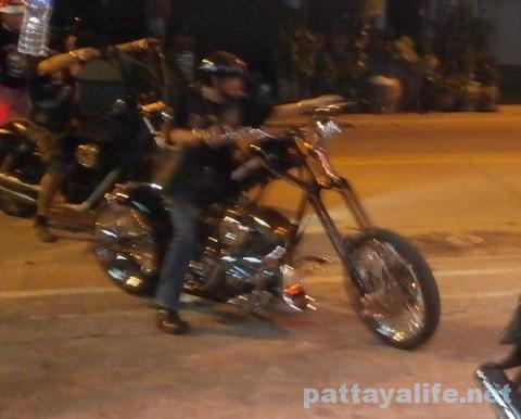 パーティ3バイク軍団