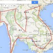 東南アジア周遊ルート地図