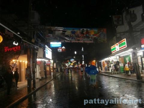 雨のウォーキングストリート2