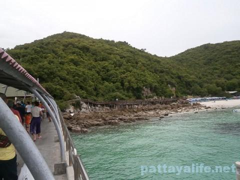 ラン島タワエン桟橋