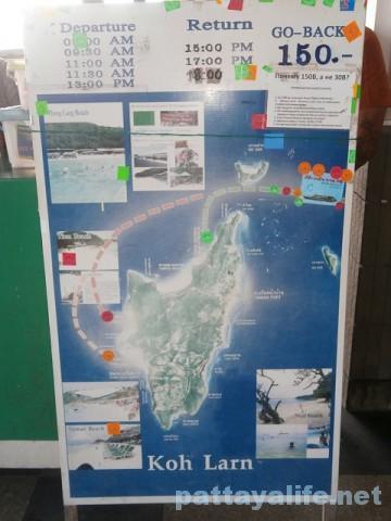 ラン島行きフェリー時刻表 (3)