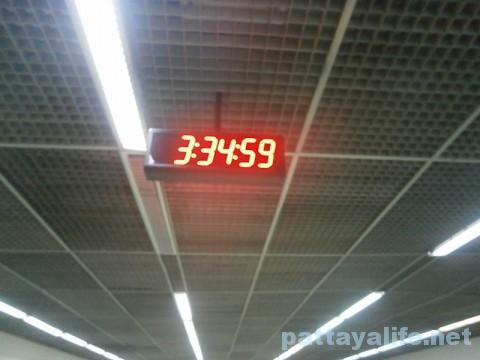 ドンムアン空港到着時刻