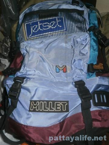 ミレーのバックパック