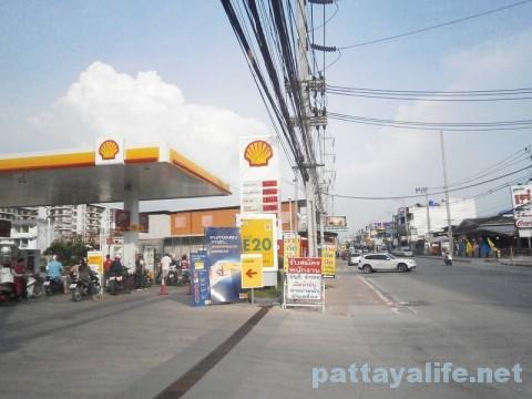 パタヤタイのガソリンスタンド