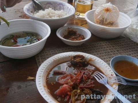 イサーン料理の食卓
