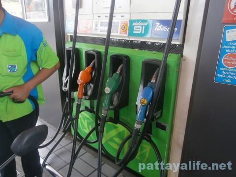 スクンビットのガソリンスタンド (1)