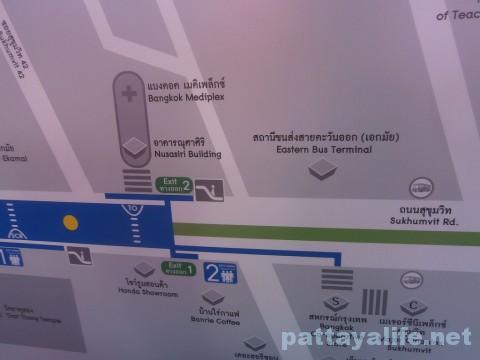 BTSエカマイ地図