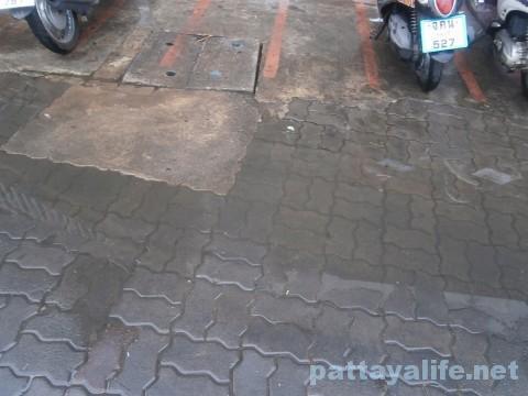 パタヤ雨降り2016年1月15日 (3)