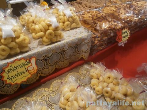 ワットチャイモンコンの縁日のお菓子