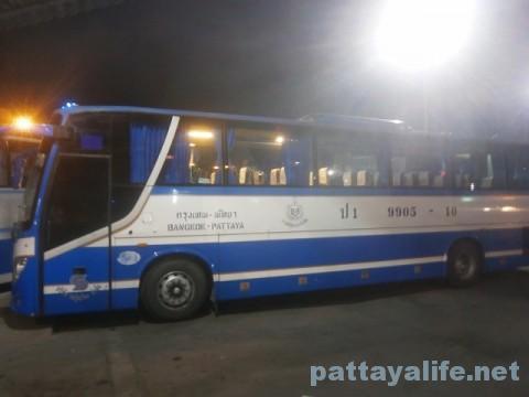 モーチット・バスターミナルパタヤ行きバス (2)