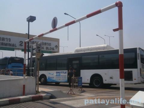 ドンムアン空港バス降り場