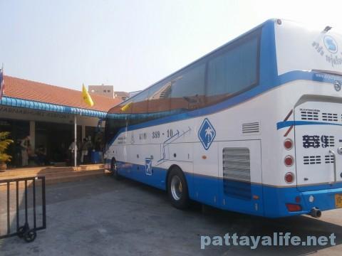 パタヤ発スワンナプーム空港行きエアポートバス乗り場 (3)