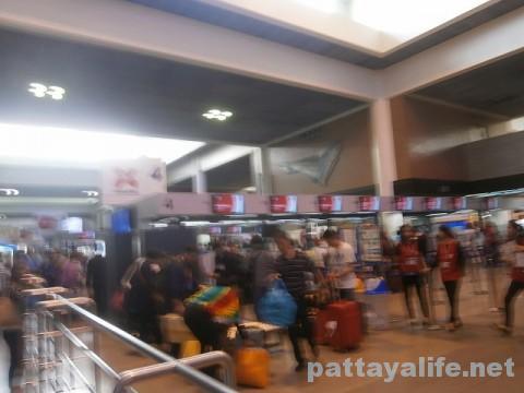 ドンムアン空港エアアジアチェックイン