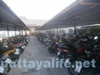 ノースパタヤバスターミナル横の駐輪場 (4)