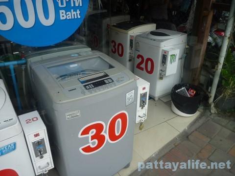 サードロードのコインランドリー洗濯機