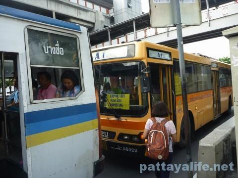 ドンムアン空港行きエアポートバス乗り場 (4)