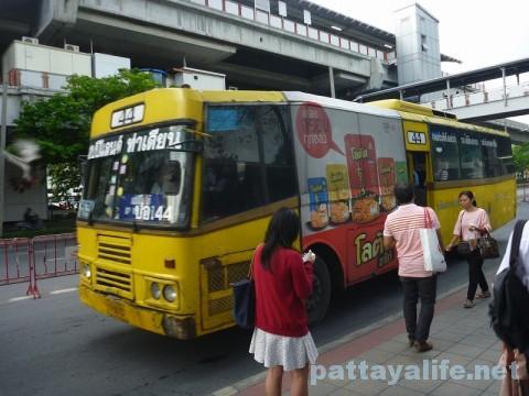 ドンムアン空港行きエアポートバス乗り場 (2)