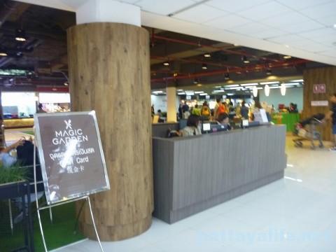 ドンムアン空港第2ターミナルのマジックガーデン (6)