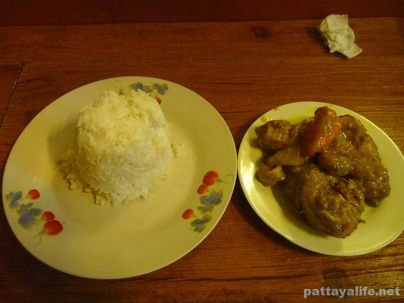 アンヘレスのぶっかけ飯チキンカレー (1)