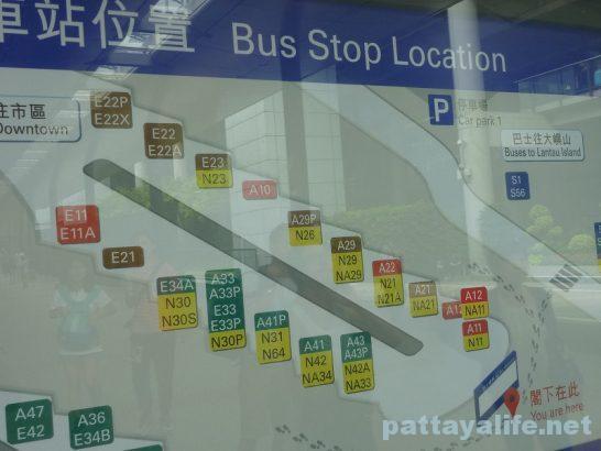 香港空港エアポートバス乗り場 (8)