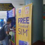 クラーク(アンヘレス)空港内の両替所、SIMカード販売所、ATMについて