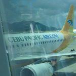香港からクラーク(アンヘレス)へ。セブパシフィック5J149便搭乗記。