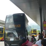 香港空港から市内(尖沙咀・チョンキンマンション)への移動方法はバスがおすすめ。往復で買うと割り引き。クレジットカードも使えるよ。