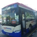 ペナン空港からジョージタウン・チュリア通りへはラピッドペナンのバスがおすすめ。安くて快適。