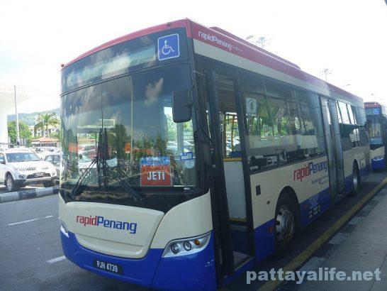 ペナン島空港バス (5)