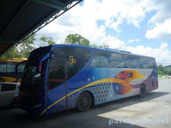 ペナン島からタイ国境へのバス (4)