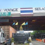 ペナン島からタイ国境の街ダンノック(サダオ)へ。タイ入国イミグレーションは意外と厳しかった。