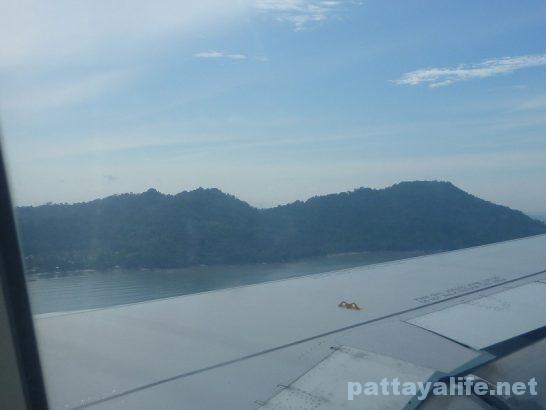 シンガポールからペナン島タイガーエア (2)