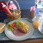 【パタヤのファランな朝食】セイラーバーレストランのアメリカンブレックファーストは70バーツへプチ値上がりしたけど、満足度は高し
