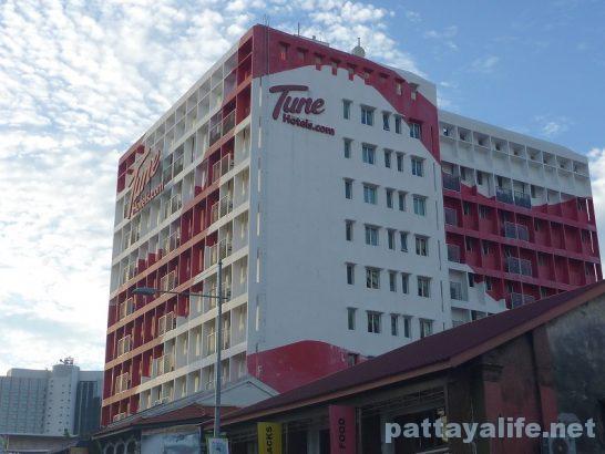 ペナン島TUNEホテル