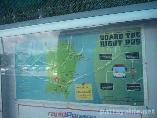 ペナン島空港バス (4)