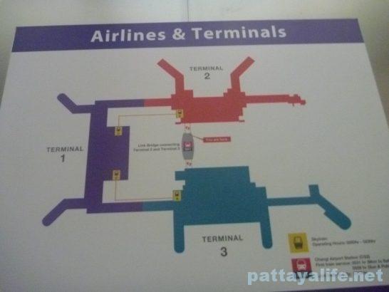 シンガポールチャンギ空港 (1)