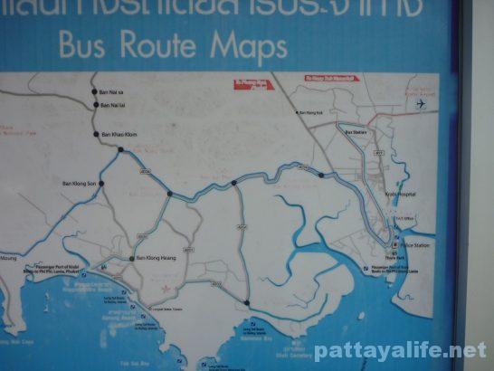 アオナンビーチソンテウバスルートマップ