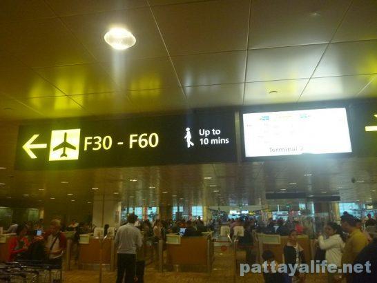 シンガポールチャンギ空港 (5)
