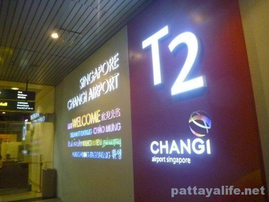 シンガポールチャンギ国際空港到着ターミナル (1)
