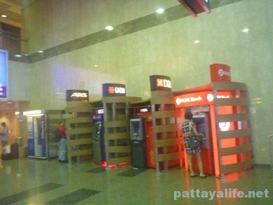 シンガポール・チャンギ空港ATM