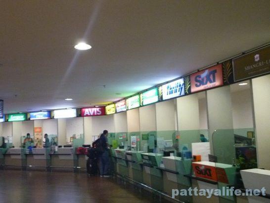 ペナン国際空港ターミナルビル内部 (2)