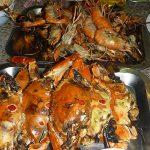 蟹がうまい!シーフードも食べ放題のゲーンムーガタ、199バーツ