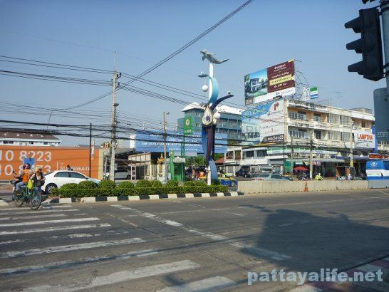 Front of North Pattaya Busterminal