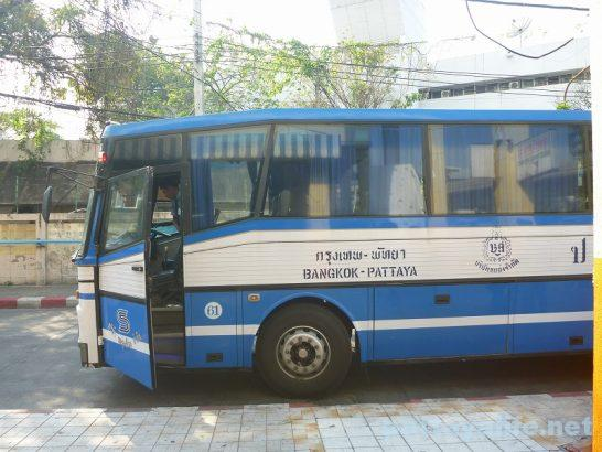 Pattaya Bangkok bus (1)