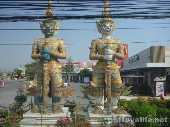 Yak statue