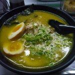 アンヘレスのウォーキングストリート内の大場ラーメンは謎のスープ