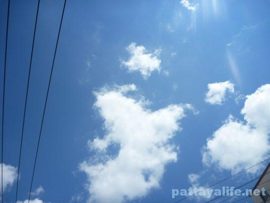 Pattaya blue sky