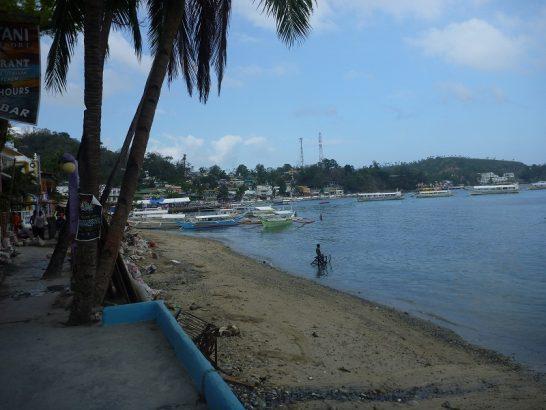 Sabang beach walkway
