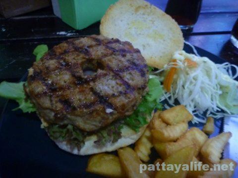Surprise hamburger サプライスのポークハンバーガー (2)
